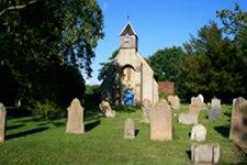 Church and churchyard